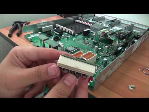 How to convert a HP Server Blade into a standard PC with Windows 10