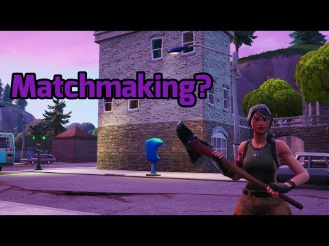fortnite no skill based matchmaking