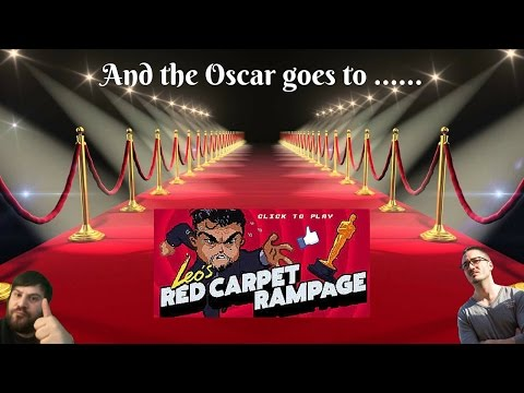 And the Oscar Goes To ......... LEO's RED CARPET RAMPAGE !!
