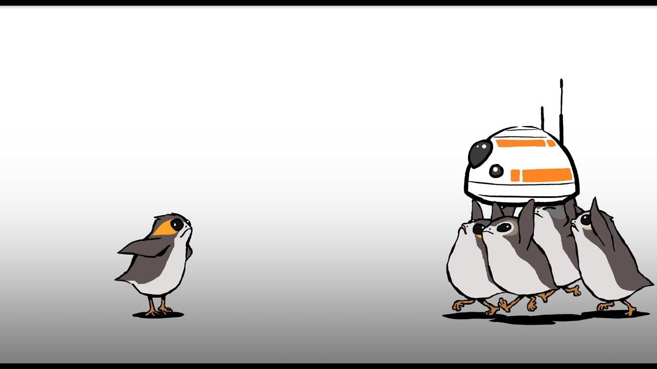 Cute Cartoon Penguins Wallpaper Keep Away Star Wars Blips Youtube