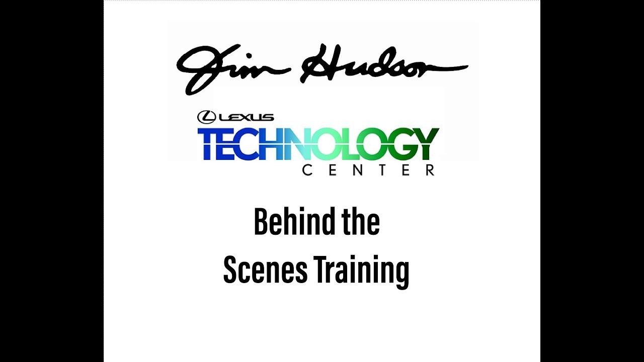 Behind The Scenes Training   Jim Hudson Lexus Augusta