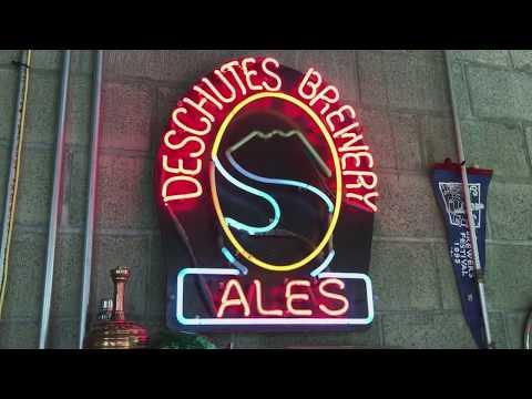 Deschutes Brewery Tour in Bend Oregon.