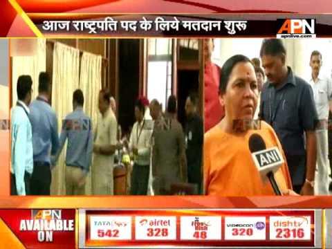 Cabinet Minister Uma Bharti speaks on presidential election