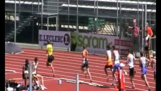 800m JUM france jeunes niort 2010