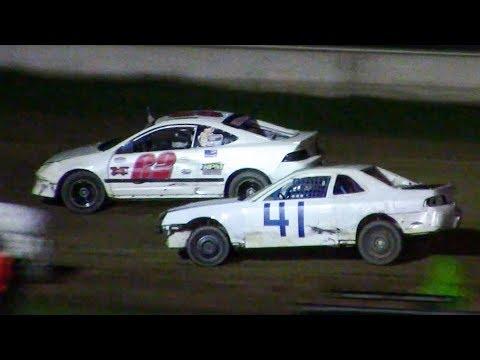 Mini Stock Heat One | McKean County Family Raceway | 9-28-18