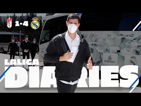 The #LALIGA fight continues! | Granada 1-4 Real Madrid | BTS