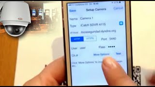 Configure IP Cam Viewer for Iphone or Ipad screenshot 5