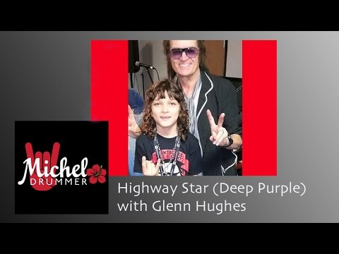 Highway Star - Michel with Glenn Hughes and Lita Ford