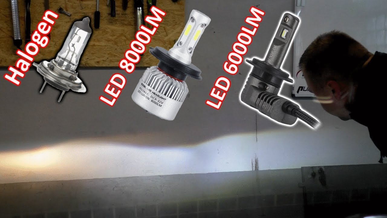 H7 Led Leuchtmittel Billig Vs Teuer Darf Man Das Youtube