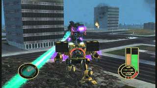 Mechassault Grinder - River City using a Timber Wolf