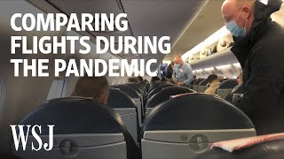 How Different Flights Around the World Look During a Pandemic | WSJ