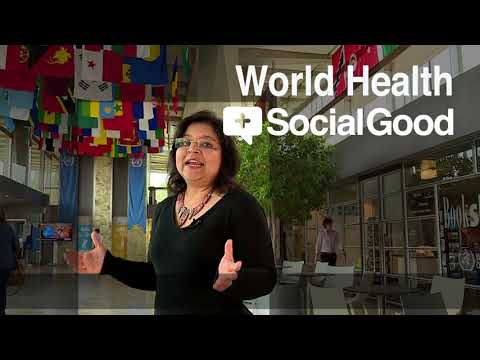 "Join our live webcast ""World Health +SocialGood"", May 2018"