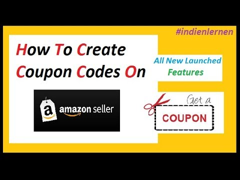 How To Create Coupon Codes On Amazon  New Feature Launched
