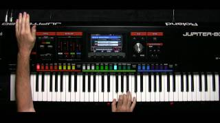 Roland JUPITER-80 Video Tutorial - Part 9 - Playing the D BEAM
