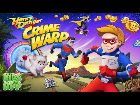 Henry Danger Crime Warp (Nickelodeon) - Best App For Kids