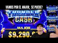 ⚡THUNDER CASH CHASING THE MAJOR JACKPOT at The Bellagio Casino in Las Vegas 🎰 Did we get it?