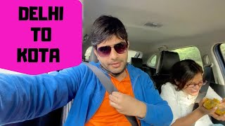 Delhi me rasta bhatak gye ! Road trip Delhi to Kota   Bharat Ghunawat