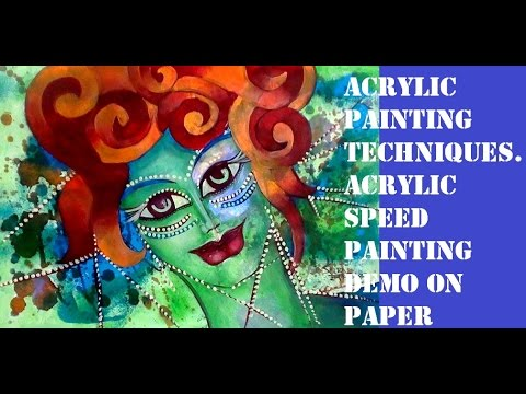 GIVE ME A NAME PLEASE Acrylic painting techniques styles by ARTYSHILS