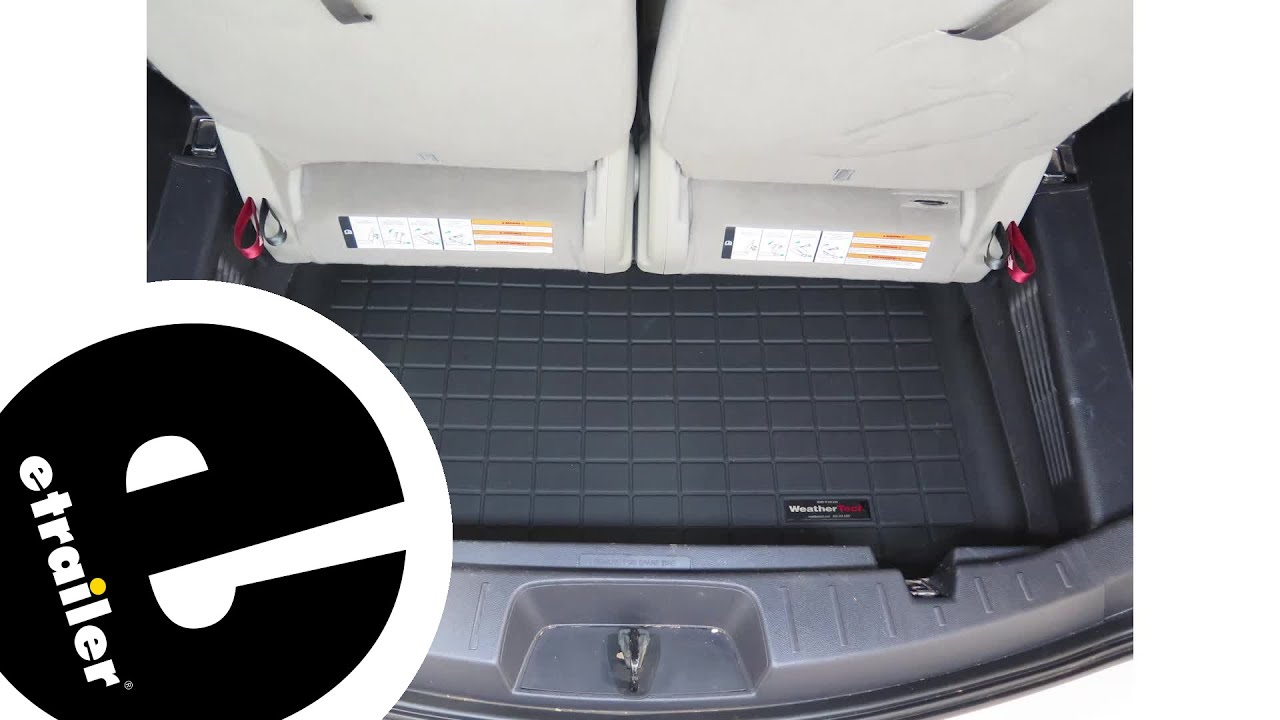 Review Of The Weathertech Cargo Liner On A 2017 Ford Explorer Etrailer