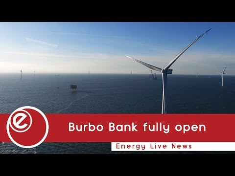Burbo Bank fully opens with world's biggest blades
