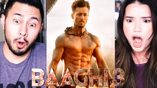 reaction on BAAGHI3 OFFICIAL TRAILER || Tiger Shroff Fighting in MIRAMAR MAP of PUBG  😜😜😜