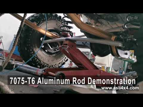 7075 T6 Aluminum Rod Demostration