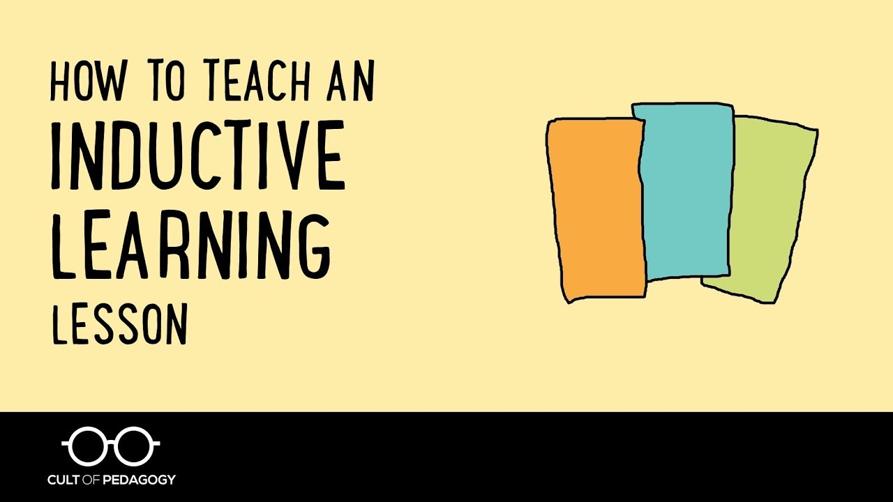 How to Teach an Inductive Learning Lesson | Cult of Pedagogy
