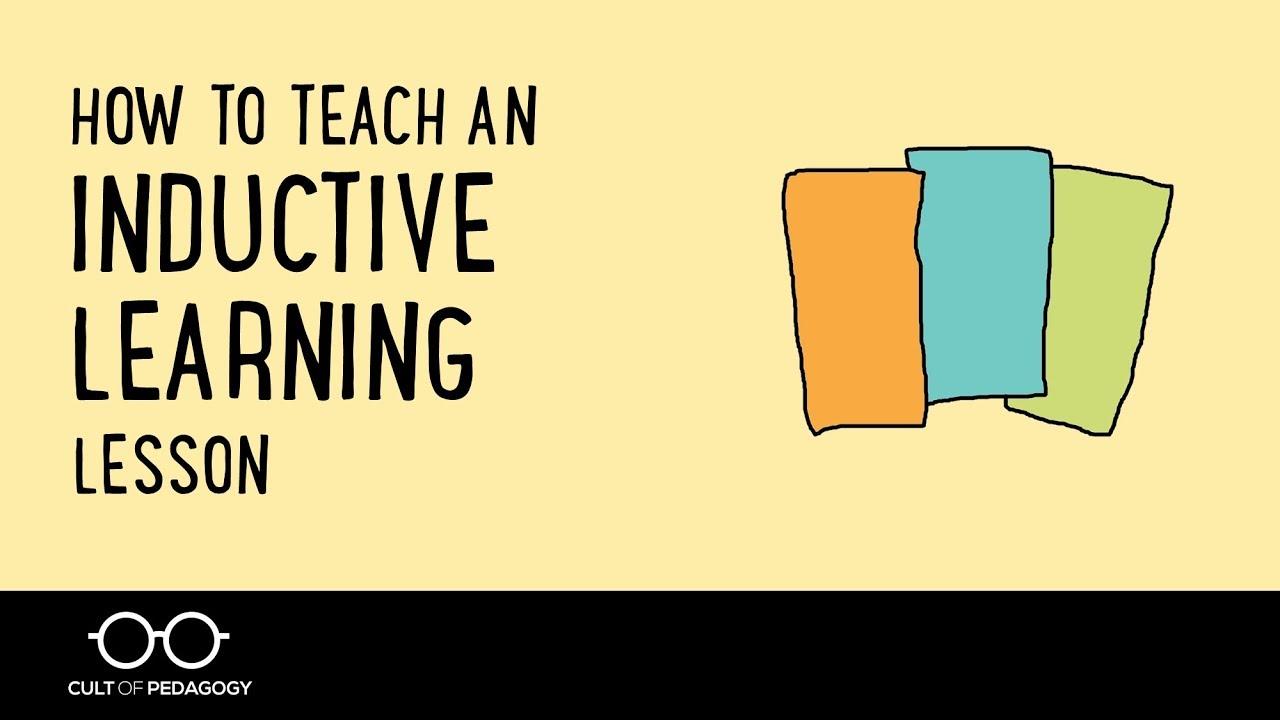 inductive method lesson plan