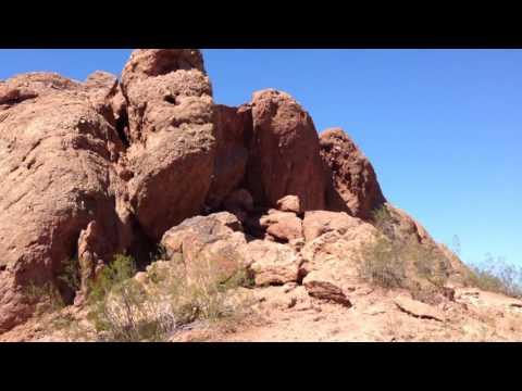 Hole In The Rock - FULL VIDEO TOUR (Papago Park, Phoenix, Arizona)
