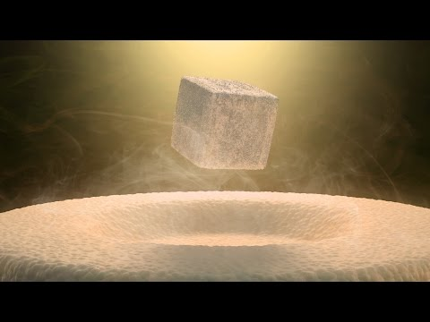Quantum Levitation: A Rare Look at Quantum Mechanics in Action