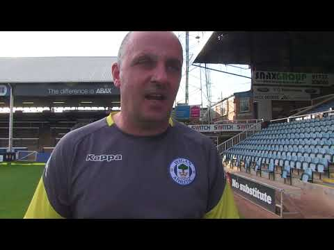 REACTION: Paul Cook on Latics' 3-2 defeat at Peterborough United