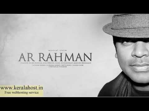 A R Rahman Songs Collections