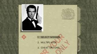 Gregorio Franco - Goldeneye 007 - Mission Briefing Cover