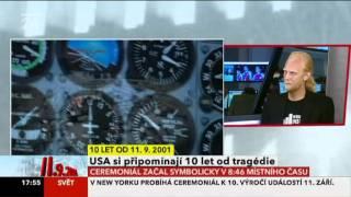 Jan Koral na CT24 9/11 2011