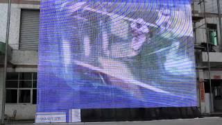 Прозрачный LED экран фасад(, 2011-10-11T08:37:23.000Z)