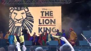 West End Live 2016 - The Lion King