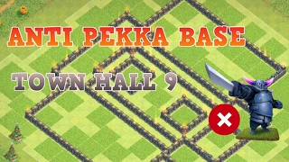 ANTI PEKKA TOWN HALL 9 BASE | Base Design Episode #13 | Clash of Clans