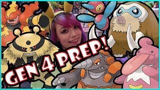 GEN 3 PREPARATION FOR GEN 4 MUST HAVES in POKEMON GO!