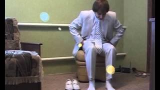 Видеосъемка жениха перед свадьбой (Вариант А)
