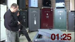 How Safe Is You Safe? Watch Theives Break Into A Cheap Safe!