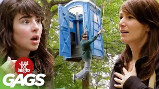 Best of Falling Down Pranks | Just For Laughs Compilation