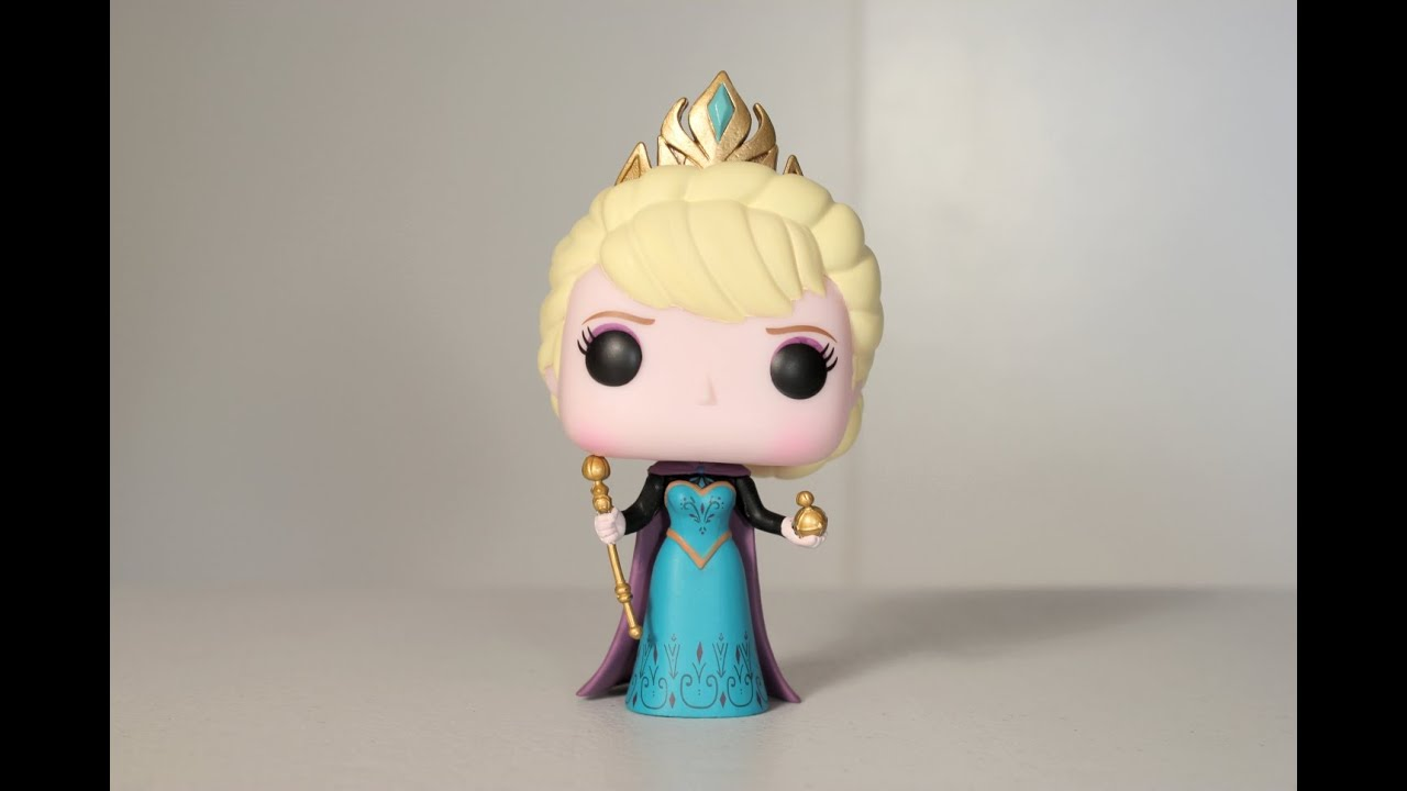 CORONATION ELSA Hot Topic Exclusive FROZEN Funko Pop
