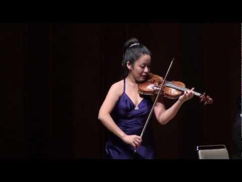 Eriko Sumi  : Beethoven Sonata for Violin and Piano No.1 in D-Major, Op.12 II Tema con Variazioni