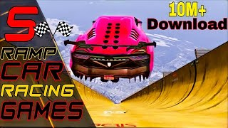 top 5 offline car stunt racing games  for android  | car ramp stunt games android | 1GB RAM Games screenshot 5
