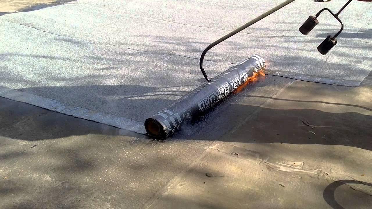 Полиэтиленом гидроизоляция стяжки