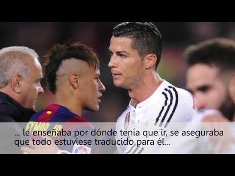 Cristiano aconsejó a Neymar durante la gala del Balón de Oro
