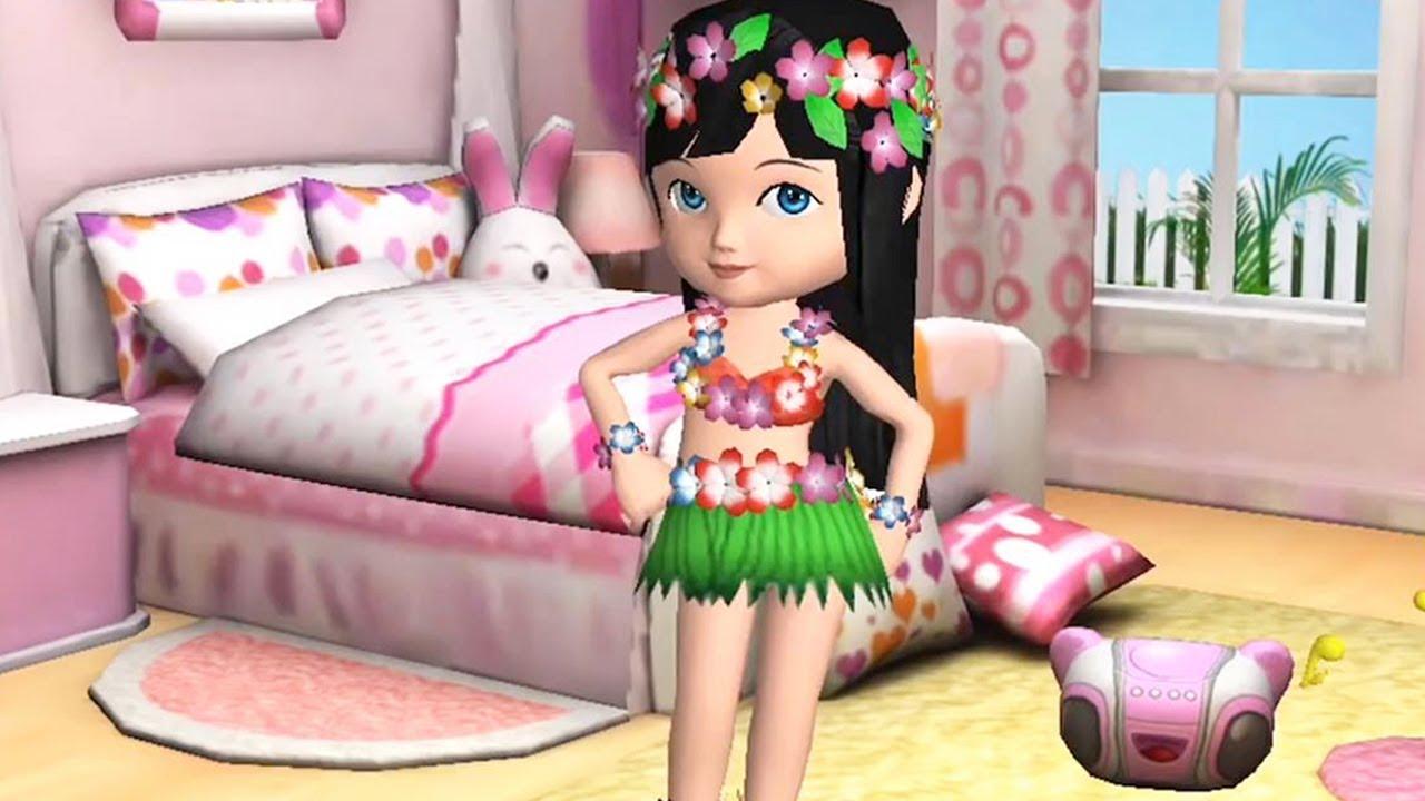 Jugar Divertido Disfraces Vestirse Minijuegos Cuidado De Niños Animación Juegos Para Chicas