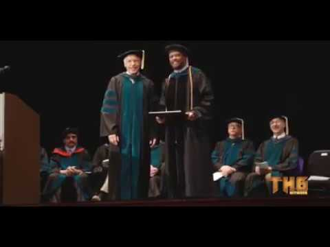 Honorable Mark Brantley   awarded Doctor of Laws honorary degree