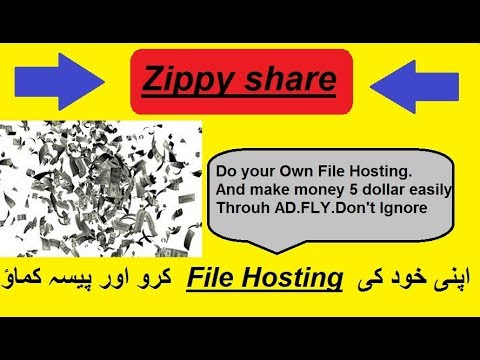 How to do your own free file Hosting|Make Money