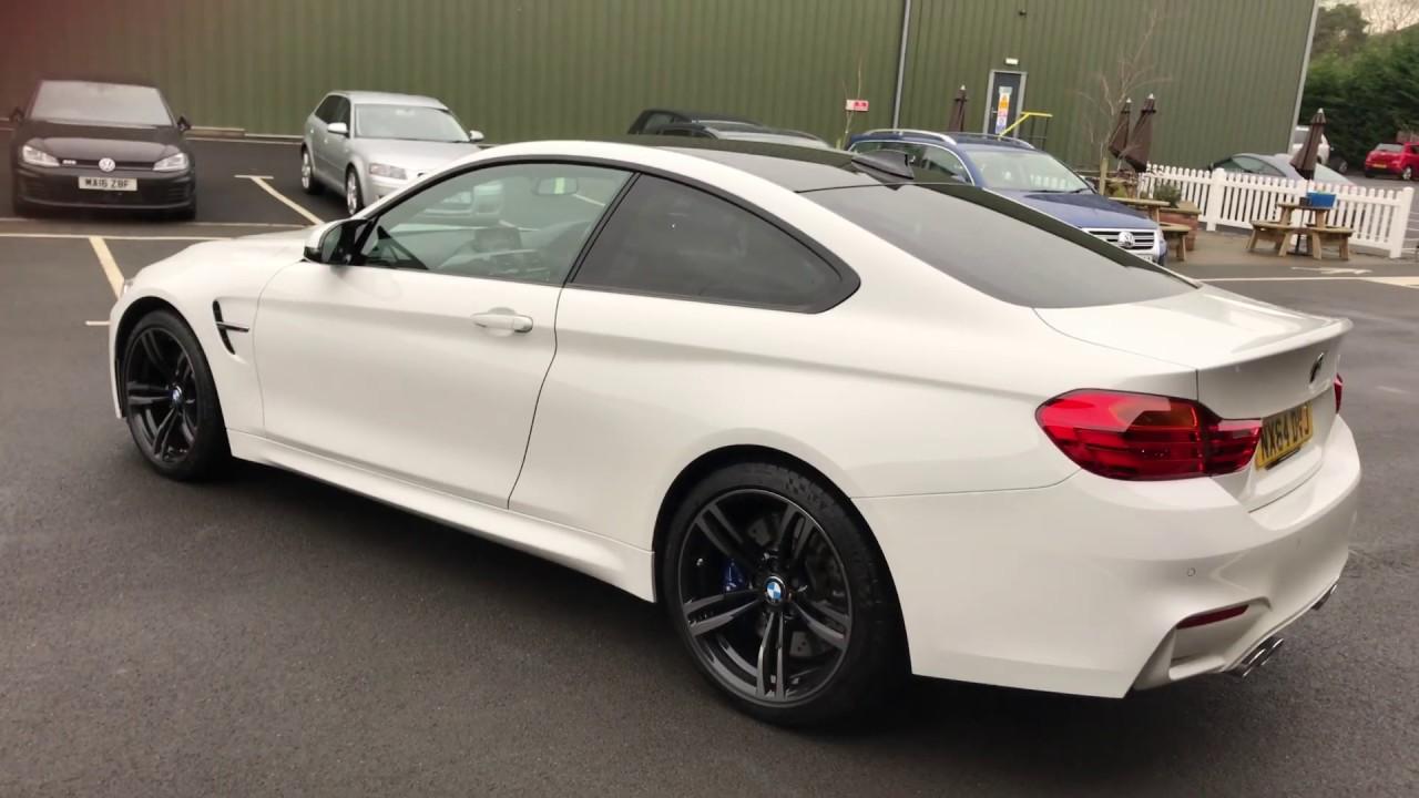 BMW M DCT Alpine White YouTube - Bmw 2014 m4